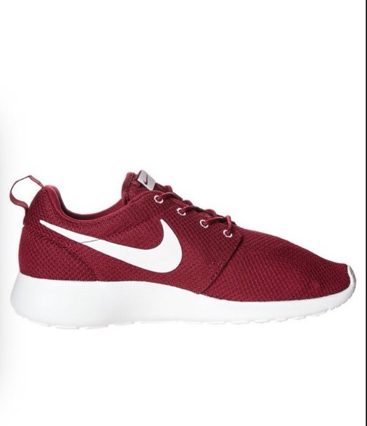 shoes nike nike running shoes nike shoes burgundy roshes
