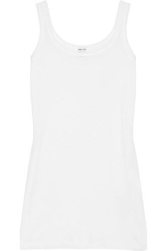 cotton white top