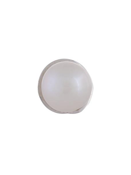Mehem women pearl earrings stud earrings silver white jewels