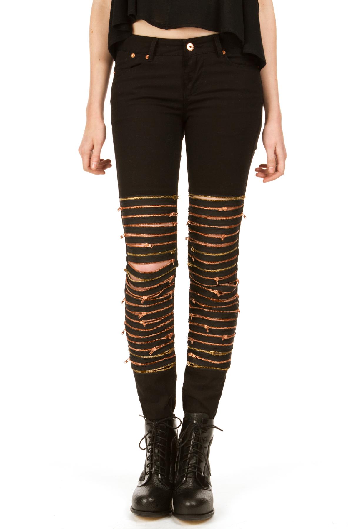 Avelon neon zip pants
