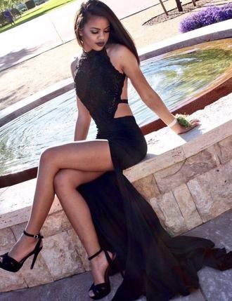 dress black prom dress prom dresses 2016 black prom dresses 2016 backless prom dress open back dresses chiffon prom dresses split side prom dresses black