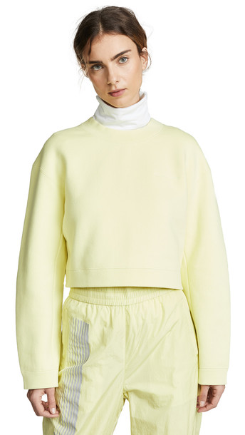 alexanderwang.t Terry Cropped Pullover