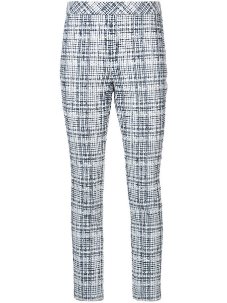 Rosetta Getty women white cotton silk wool pants