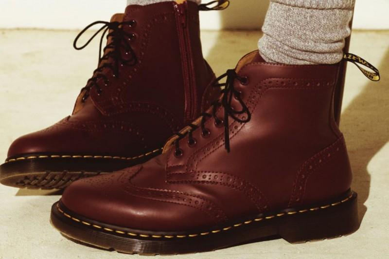 Dr martens x uniform experiment wing tip boots