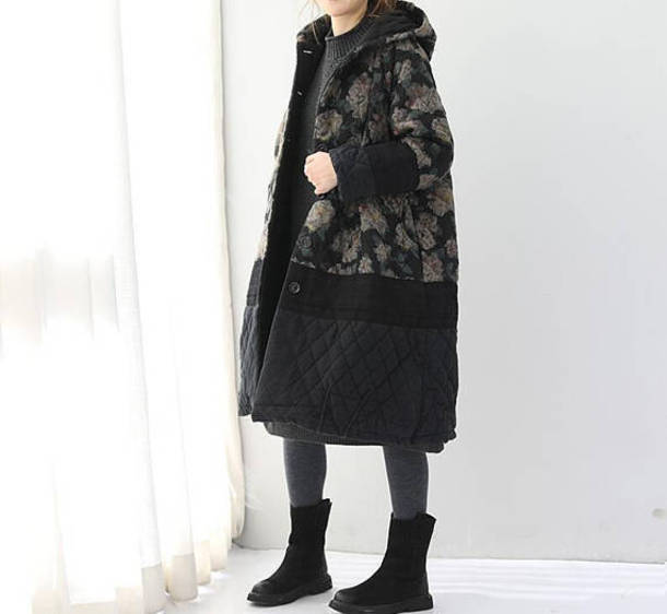 coat long padded coat