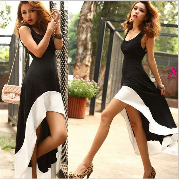 Aliexpress.com : Buy Hot Women The Milk Silk Deep U Neck Bare Backless Long Hem Tank Swallow Tail Sleeveless Dress from Reliable dress sexy women suppliers on Shenzhen Gache Trading Limited
