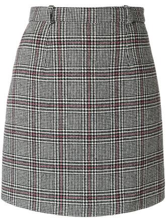 skirt mini skirt mini women grey