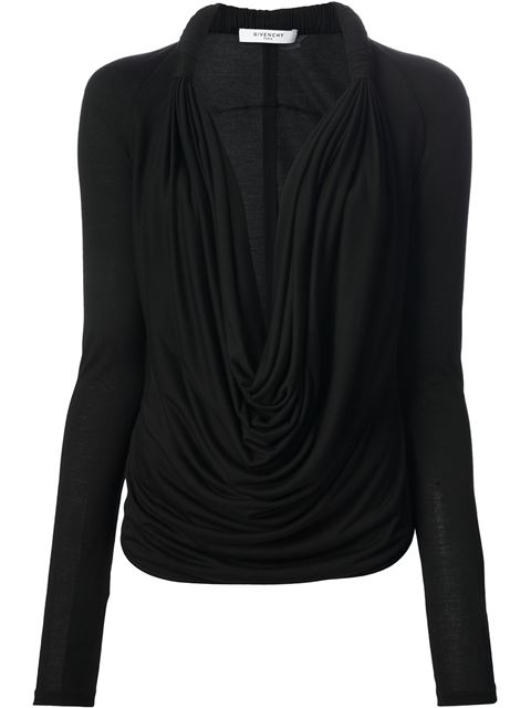 Givenchy Open Front Blouse - Smets - Farfetch.com