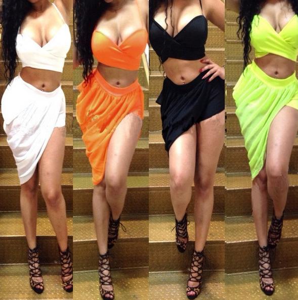 Bandage Bra Club Party Dresses