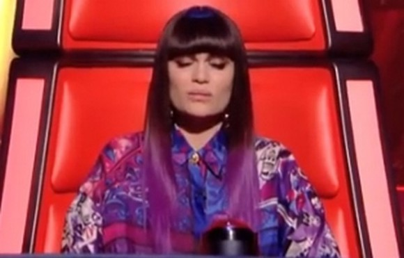 the voice blouse purple blue white jessie j