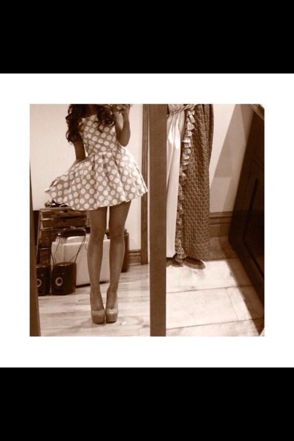 polka dots ariana grande vintage girly