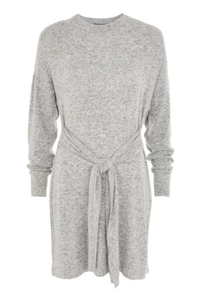 Topshop dress grey