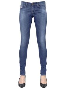 Skinzee low raise stretch denim jeans