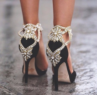 shoes high-heels shoes jewels