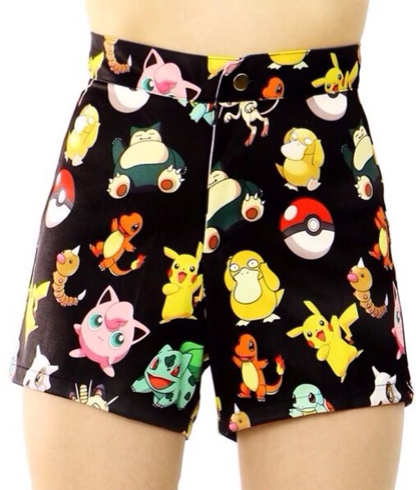shorts pokemon pokemon shorts