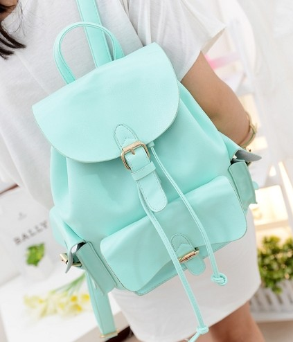 Pastel Pu Backpack 3 Colors From Mancphoebe On Storenvy