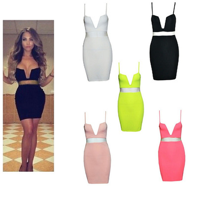 V neck bodcon sheer cut outs sexy dress · ebony lace fashion boutique · online store powered by storenvy