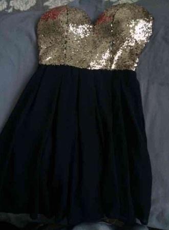 dress gold black mini dress gold sequins sequin dress