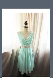 mint blue,dress,teal,turquoise,blue,short,mini dress,junior prom,prom dress,blue dress bling