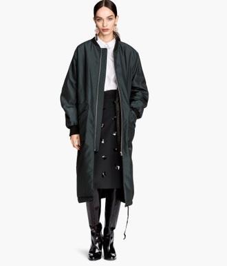 jacket navy bomber jacket long bomber jacket black
