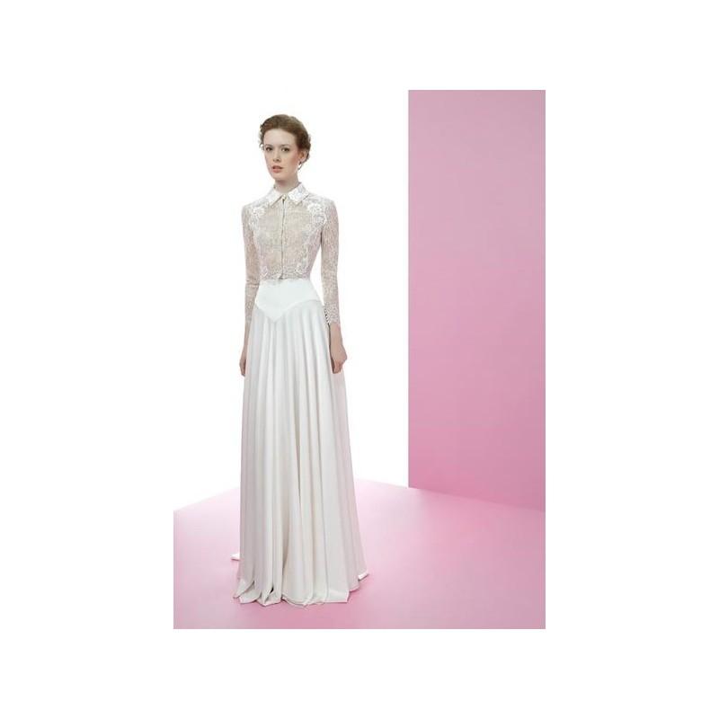 Vestido de novia de Miquel Suay Modelo Eiden - 2016 Imperio Con ...