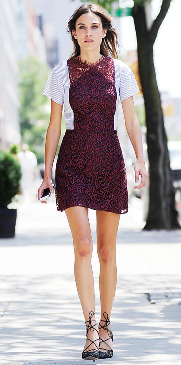 dress alexa chung