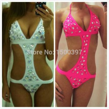 Aliexpress.com : buy 2015 advance booking sales summer biquini,hot sexy women white mesh swimsuit,sling neck halter push up swimwear mesh bikini from reliable bikini dancing suppliers on igoodbuy