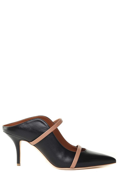 Malone Souliers Maureen Leather Mules in nero