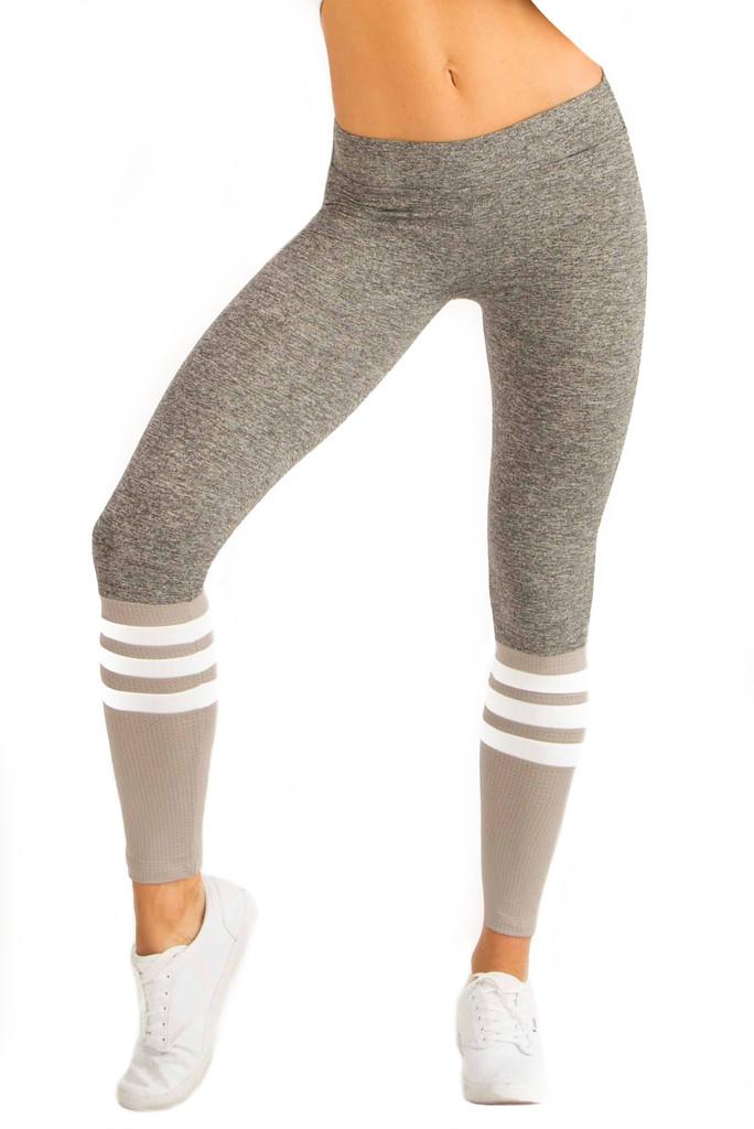 Bombshell Sportswear Designer Sock Leggings