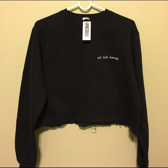 Brandy Melville Uh Huh Honey Cropped Nancy Sweater From Kathleens