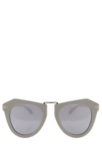 sunglasses silver
