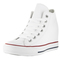 Converse women's chuck taylor lux mid casual shoe - walmart.com