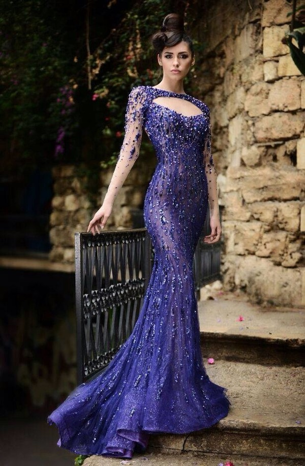 dress blue dress purple dress prom dress elegant elegant dress sparkly dress