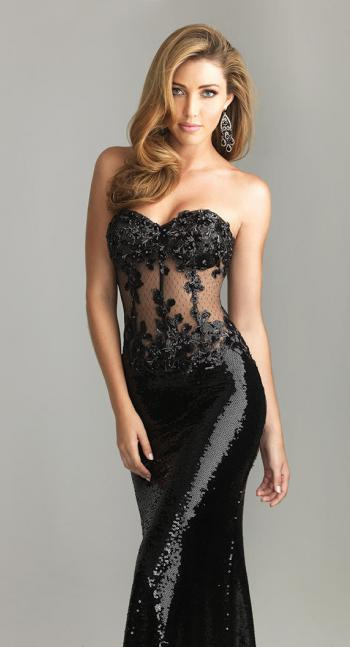Night Moves Dress 6611 | Terry Costa Dallas