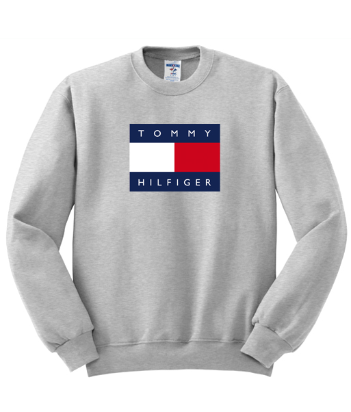 logo tommy hilfiger unisex sweatshirt. Black Bedroom Furniture Sets. Home Design Ideas