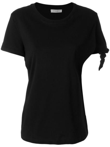 JW Anderson t-shirt shirt t-shirt women cotton black top