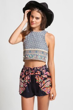 CROP TOP WITH COOL PATTERN on The Hunt