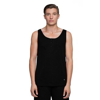 tank top black black tank top black clothes clothes fashion monochrome basic