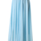 Light blue long maxi skirt - retro, indie and unique fashion