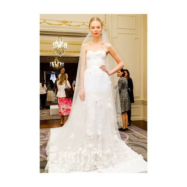 dress wedding dress lace dress marchesa spring