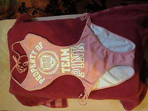 "Victoria's Secret Super Cute Sexy One Piece ""Pink"" Brand Swimsuit XS Cute 