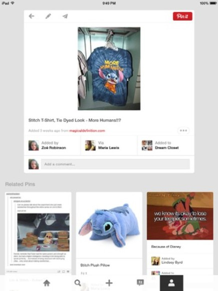blue t-shirt tie dye more humans lilo and stitch stitch