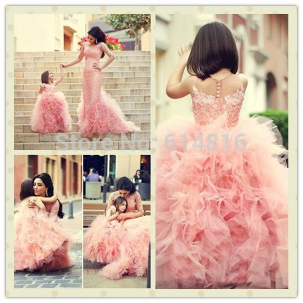 mother and child prom dress