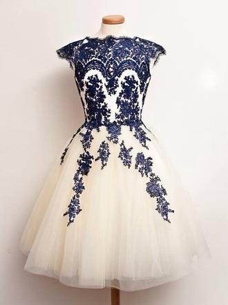 dress tulle dress white blue dress holiday dress