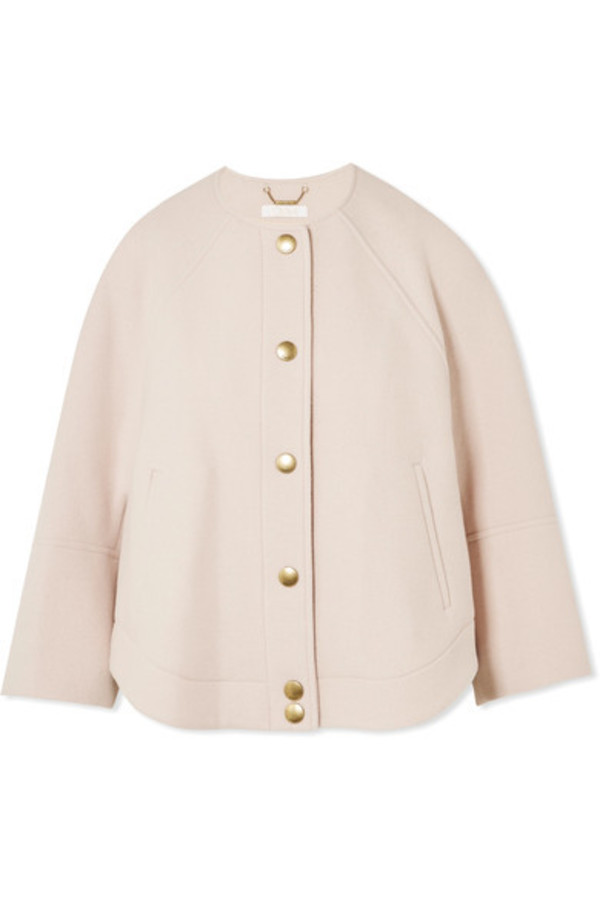 jacket wool blush