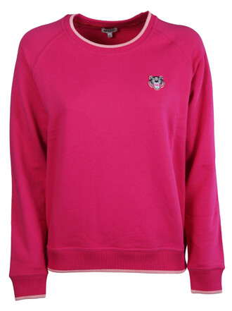 sweatshirt tiger purple pink sweater