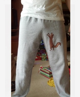 fall outfits guys grey sweatpants funny menswear