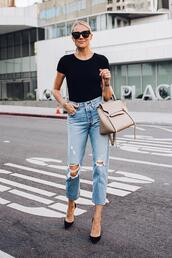 fashionjackson,blogger,jeans,shoes,sunglasses,bag