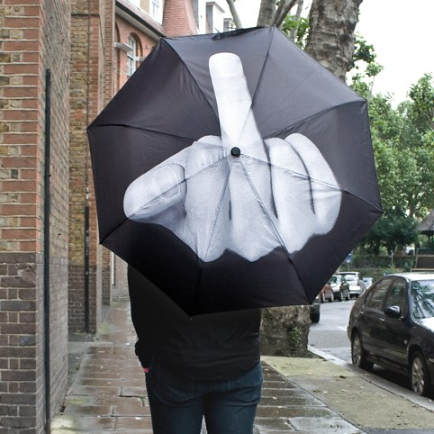Up Yours Umbrella - buy at Firebox.com