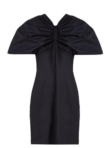 Jacquemus dress mini dress mini wool navy